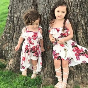 Other - Twins sisters matching outfit dress